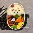 ☆ハロウィン☆おばけちゃんの詰め弁当♫