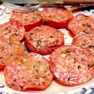 サラミとトマトのマリネ*前菜*オードブル