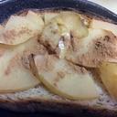 まるでアップルパイ(^ー^) りんごバタートースト