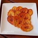 簡単!手作りのバナナチップス