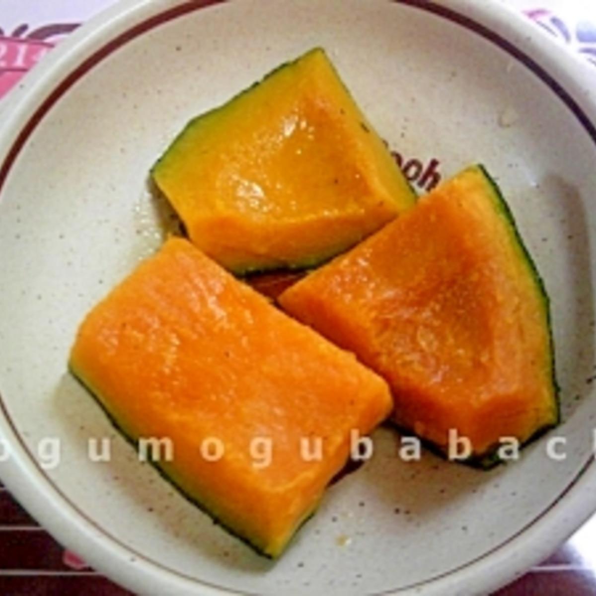 冷凍 かぼちゃ 煮物 冷凍かぼちゃで簡単煮物 by みほソン 【クックパッド】...