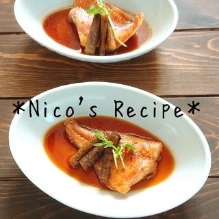 赤魚とごぼうの煮付け