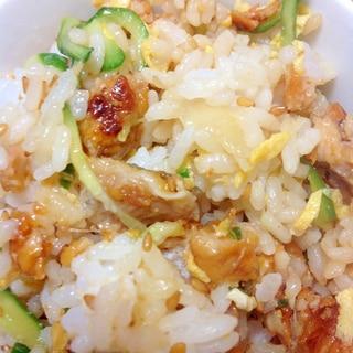 鰻ときゅうりのちらし寿司