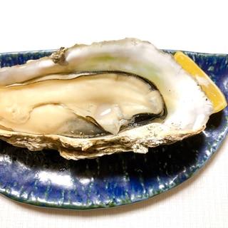 殻つき牡蠣は→グリルで焼き牡蠣♪絶品!