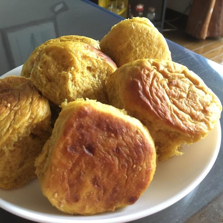カレー風味☆炊飯パン