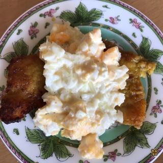 豚カレー風味 タルタルソース