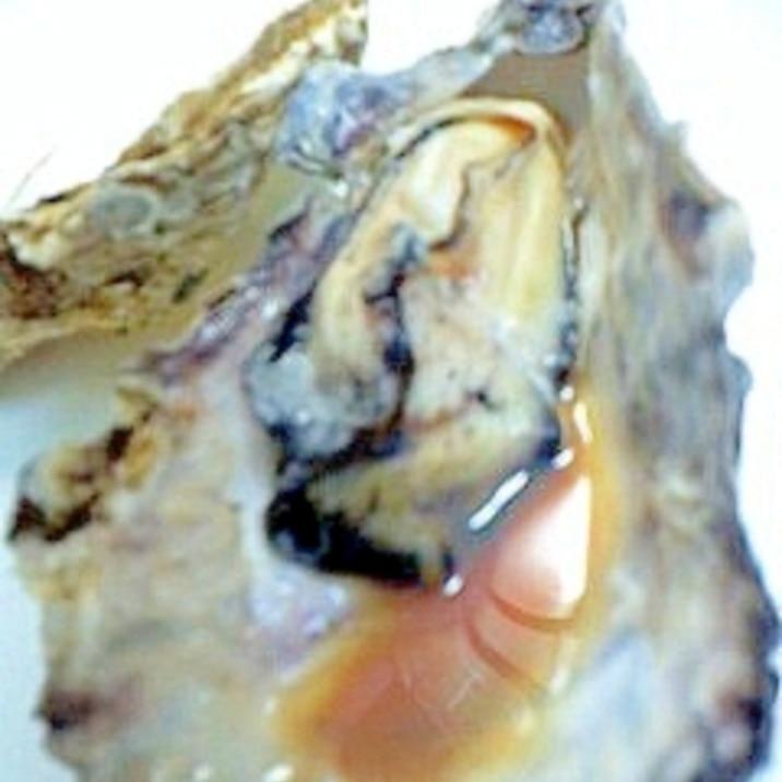 レンジで簡単楽チン♪殻つき牡蠣の蒸し焼き