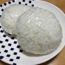 ろく助のお塩で、シンプル塩むすび