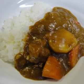 活力なべ☆肉は軟らか野菜は程良い軟らかさのカレー