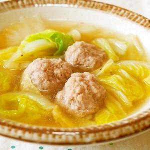 白菜と肉団子のトロトロ煮♪