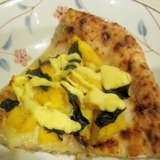 和風卵焼きピザ