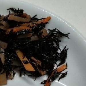 お惣菜屋さんの定番♪ひじきの煮物