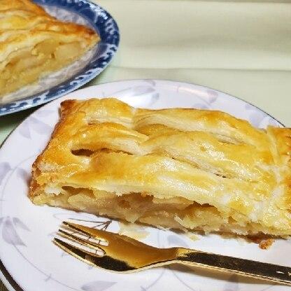 バターがきいたアップルパイで美味しかったです!ごちそうさまでした!