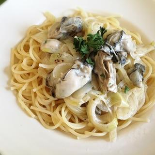濃厚・クリーミィー牡蠣のパスタ