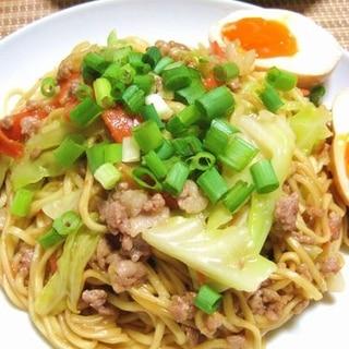 袋麺de簡単♪焼きラーメン