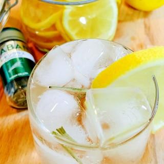 レモングラスin!レモン酢で簡単スパイスレモネード