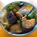 甘辛★しみしみ★茄子とピーマンの味噌炒め