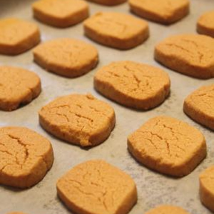 きな粉でサクサク♪きな粉クッキー