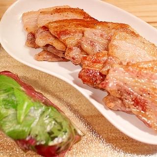 激旨タレ!自分で巻いて楽しむ豚バラ肉の生春巻き