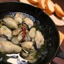 牡蠣のアヒージョ♪