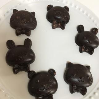ステビアで低糖質なローチョコレート