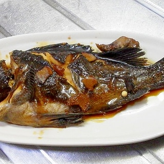 フライパンで30分、居酒屋の魚煮付け