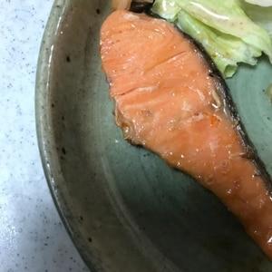 秋生鮭のみりん漬け