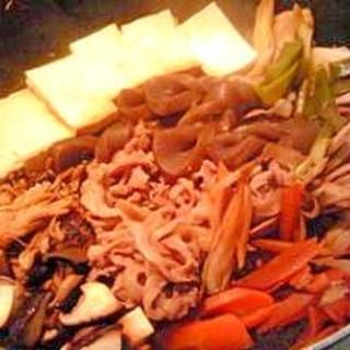 ほくほく、簡単、肉豆腐