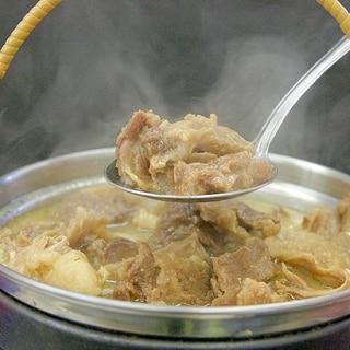 馬スジの味噌煮込み