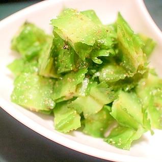 【超簡単】いくらでも食べられる四角豆のナムル