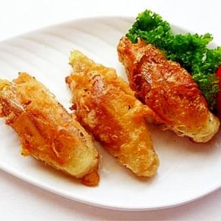 清涼感漂う みょうがの天ぷら