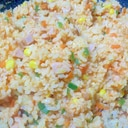 魚肉ソーセージのケチャップライス
