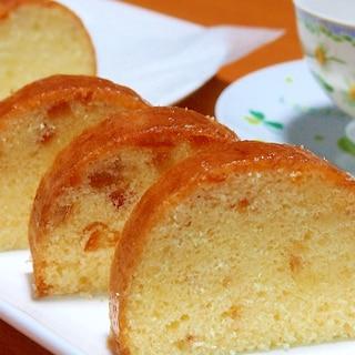ふわふわしっとりパウンドケーキ
