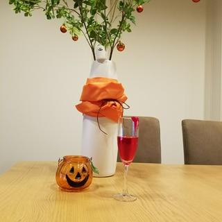 ハロウィン 血のドリンク…(紅茶です(*^.^))