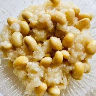 大豆のおこわ