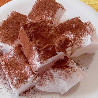 低糖質な生マシュマロ♪混ぜて、冷蔵庫で冷やすだけ!