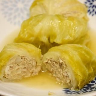 豆腐入り★ヘルシーロールキャベツ