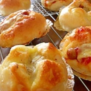 カレーチーズパン&ウインナーチーズパン