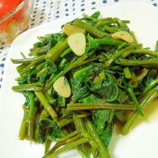 ベトナム風☆空芯菜とニンニクのナンプラー炒め
