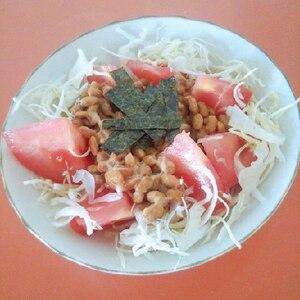 海苔と納豆のおつまみ