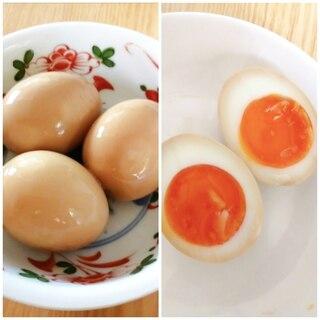 味が染みてお店の味☆半熟煮卵