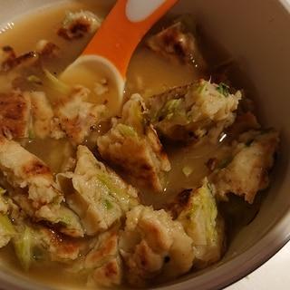 ピリ辛お好みスープ
