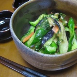 胡瓜漬物~生姜&味噌~
