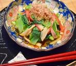 小松菜とかにかまのお浸し