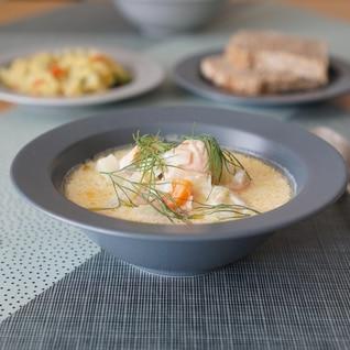 フィンランドの家庭料理【サーモンのクリームスープ】