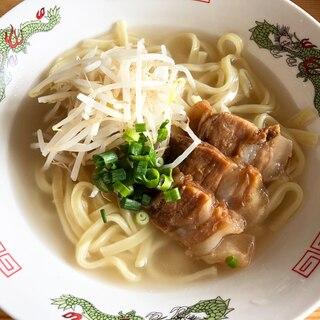 沖縄の味!☆お家の沖縄そば風〜