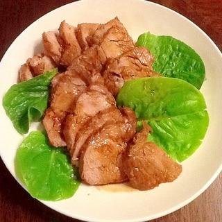 煮るだけなのに焼き豚風簡単煮豚