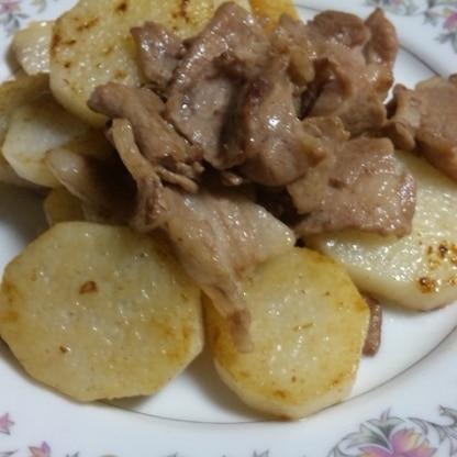 長芋のなんとも言えない食感が美味しかったです♪ 長芋だけを先に炒めるのもミソなんですね。 母も喜んでいました♪