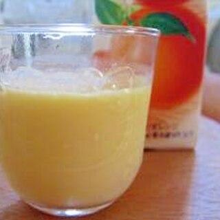 ミルクdeオレンジジュース