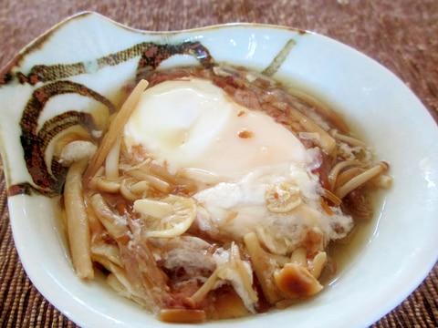 えのきと卵の煮物